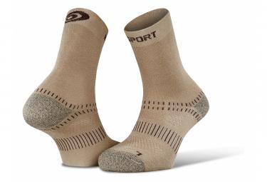 BV SPORT Socks dual Evo Beige