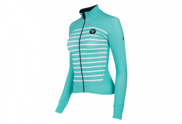 LeBram Ventoux Women Long Sleeves Jersey White Adjusted Fit