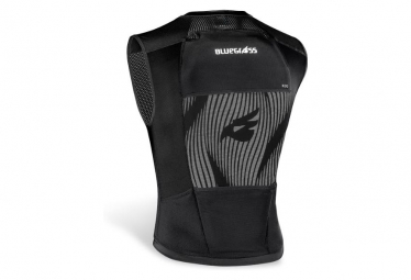 Bluegrass Armor Lite Protective Vest with Back Protector Black