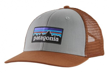 Casquette Patagonia P-6 Logo Gris Unisex