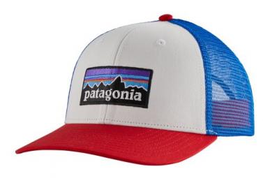 Casquette Patagonia P-6 Logo Blanc Unisex