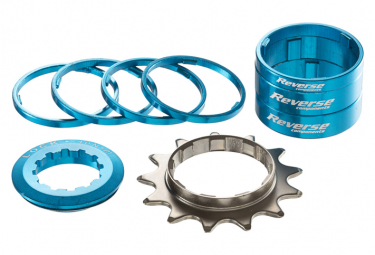 REVERSE Single Speed Kit Light Blue / Incl pignon 13T