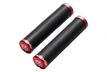 Paire de Grips Reverse Seismic-Ergo ø32mm Noir Rouge