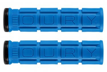 Oury Grips Lock-On V2 Grips Deja Blue
