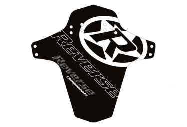 Guardabarros Delantero Logo Reverso Negro   Blanco
