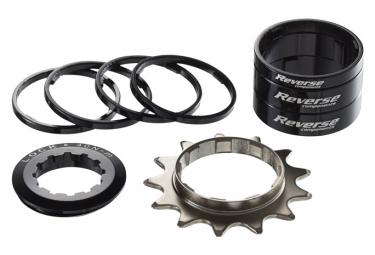 Kit Single Speed Reverse Pignon 13 Dents Noir