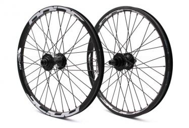Pair of Pride Racing Control Pro Wheels Black