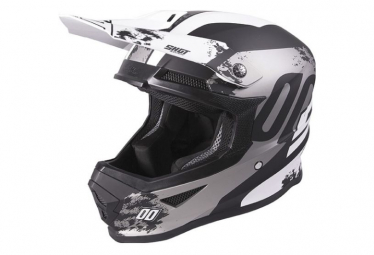 Image of Casque shot furious shadow black white xs