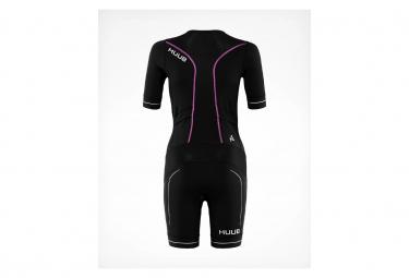 HUUB Women's Aura Long Course Tri Suit Tri Suit Black Pink