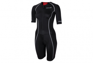 HUUB 2020 Essential Long Course Tri Suit - Women Black/Red