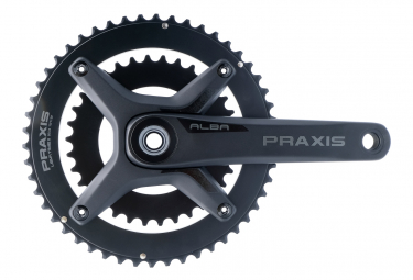 Pédalier Praxis Works Alba M30 X-Spider 48/32 dents 11V