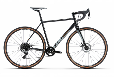 Bombtrack Hook 2 Gravel Bike Sram Rival 1 11S 700 mm Brillante Metálico Negro 2020