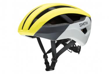 Route Smith Network Mips Casco Amarillo Fluo Mate M  55 59 Cm
