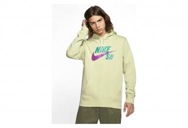 Nike SB Icon Green / Purple Hoodie