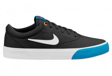 Nike SB Charge Canvas Shoes Black / Blue