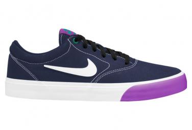 Nike SB Charge Canvas Blue / Purple Shoes