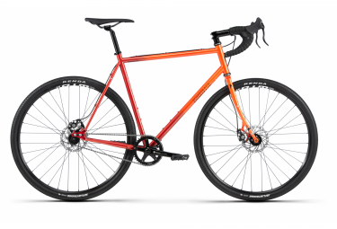 Bombtrack Arise 2 Gravel Bike Single Speed 700 mm Naranja brillante Fade 2020