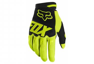 Fox Dirtpaw Gloves Neon Yellow