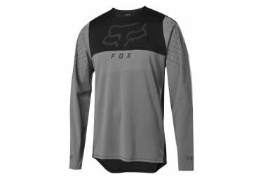 Fox Flexair Delta Long Sleeve Jersey Gray / Black