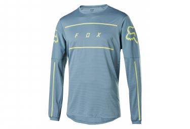 Fox Flexair Line Long Sleeve Jersey Blue