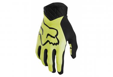 Gloves Fox Flexair Yellow Fluo