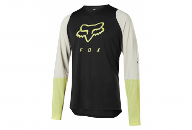 Fox Defend Foxhead Long Sleeve Jersey Black