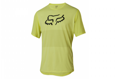 Fox Ranger Neon Yellow Short Sleeve Jersey