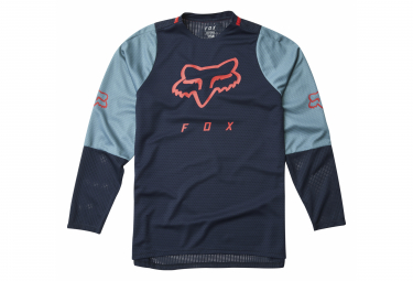 Fox Defend Navy Kids Long Sleeve Jersey
