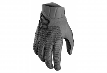 Fox Defend Gray Gloves