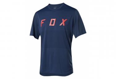 Maillot Manches Courtes Fox Ranger Bleu Marine
