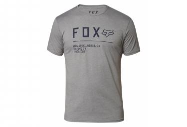 T-Shirt Manches Courtes Fox nicht stoppen Anthrazit-Diagramm