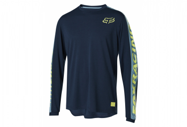 Fox Ranger Dr Navy Blue Long Sleeve Jersey