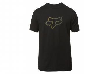 T-Shirt Manches Courtes Fox Legacy Noir / Kaki