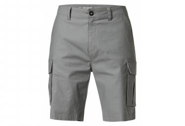 Pantalones Cortos Fox Slambozo 2 0 Gris Claro 34