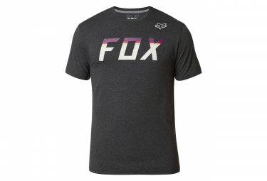 Fox On Deck Anthracite Camiseta Negra De Manga Corta Xl