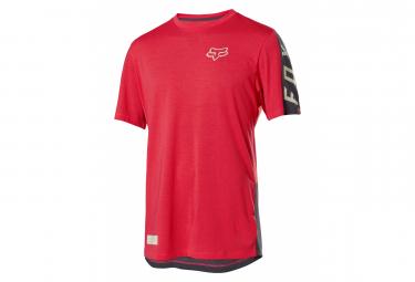 Fox Ranger Dr Brillant Red Short Sleeve Jersey