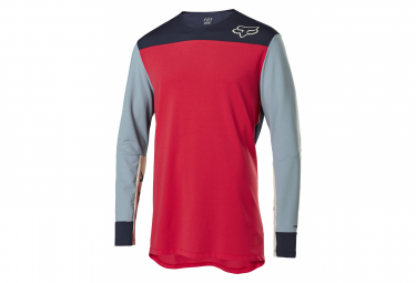 Fox Defend Delta Long Sleeve Jersey Red
