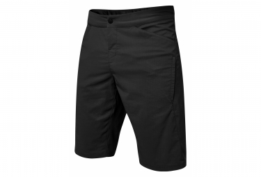 Shorts Fox Ranger Utility in pelle nera