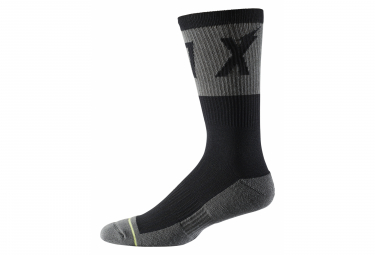 Fox 8 'Cushion Trail Wurd Black Socks