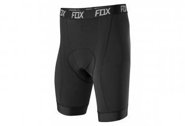 Sous-Short Avec Peau Fox Tecbase Liner Noir