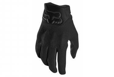 Fox Defend Kevlar D30 Black Gloves