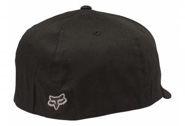 Casquette Fox Legacy Flexfit Noir / Blanc