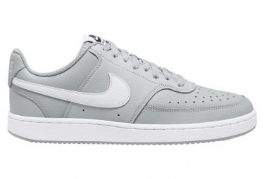 Chaussure Nike Court Vision Low LT SMOKE GREY/WHITE-BLACK