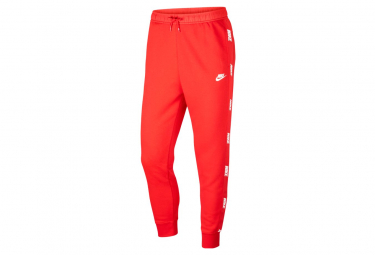 Pantalon Survet Nike Sportswear UNIVERSITY RED/UNIVERSITY RED/WHITE L
