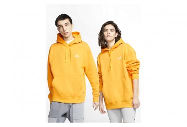 Nike Sportswear Club Fleece Yellow Hoodie