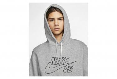 Sweat à capuche Nike SB Gris