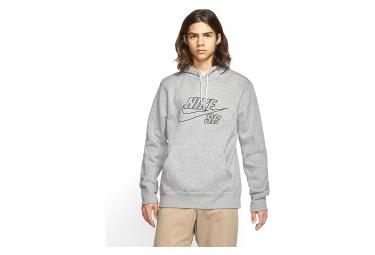 Nike SB Gray Hoodie