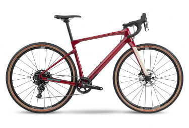 Bicicleta BMC URS Four Gravel Sram Apex 11S 700 mm Cherry Red 2020