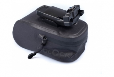 Fidlock Push Saddle Bag 400 ml Black
