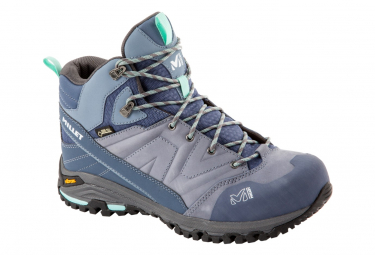 Wanderschuhe Millet Hike Up Mid GTX Blue Women